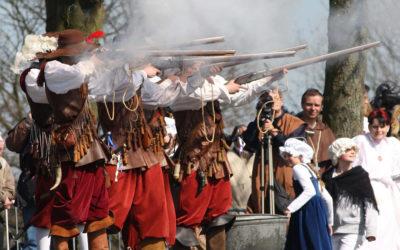 5 apr: Tegenaanval Spanjaarden
